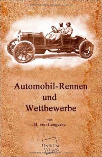 Automobil-Rennen und Wettbewerbe