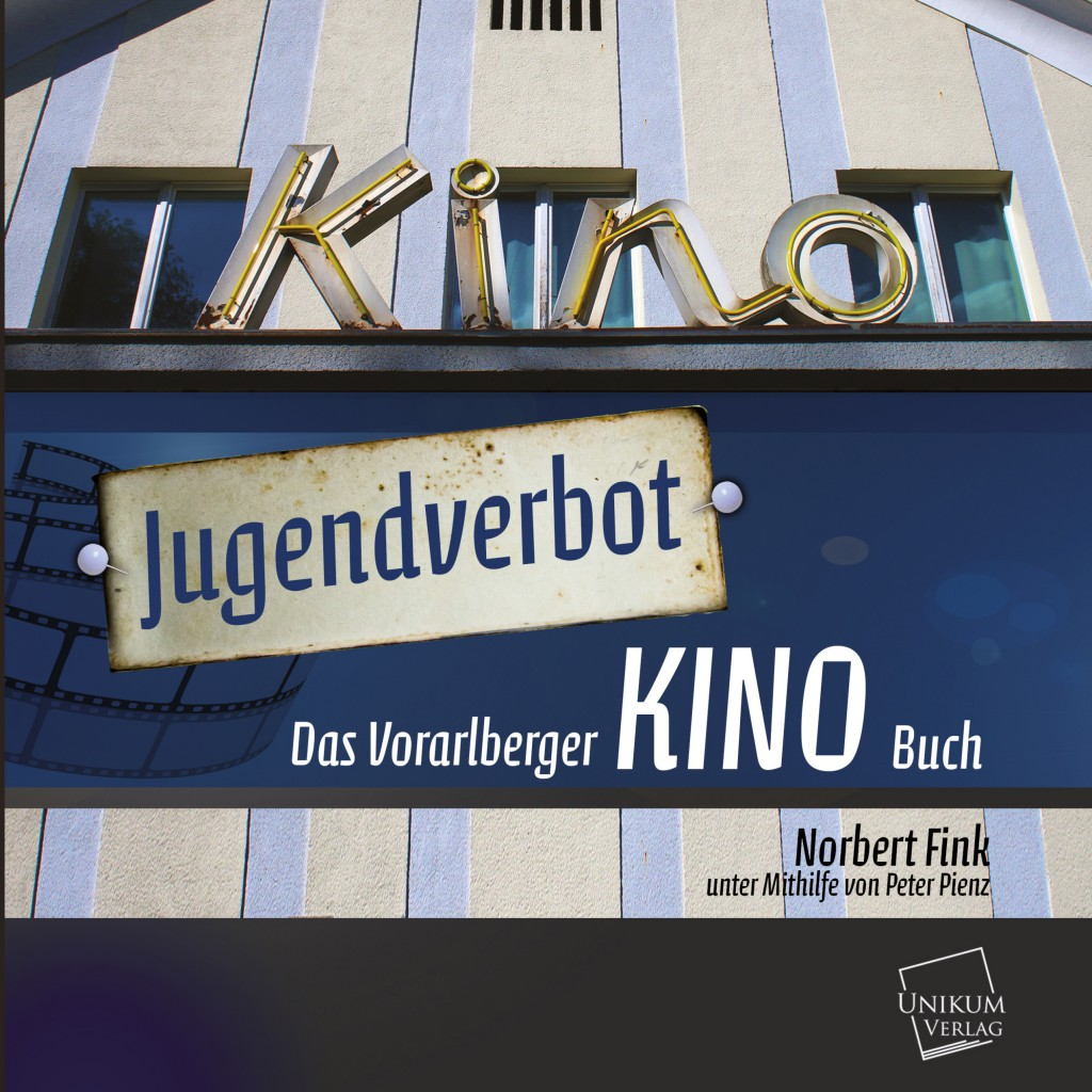 """""""Jugendverbot – Das Vorarlberger Kinobuch"""" ist eine Pflichtlektüre für alle Kinoliebhaber und Filmfans. Norbert Fink ist Gründungsmitglied und seit 38 Jahren Obmann des Filmkulturclubs (FKC) Dornbirn."""